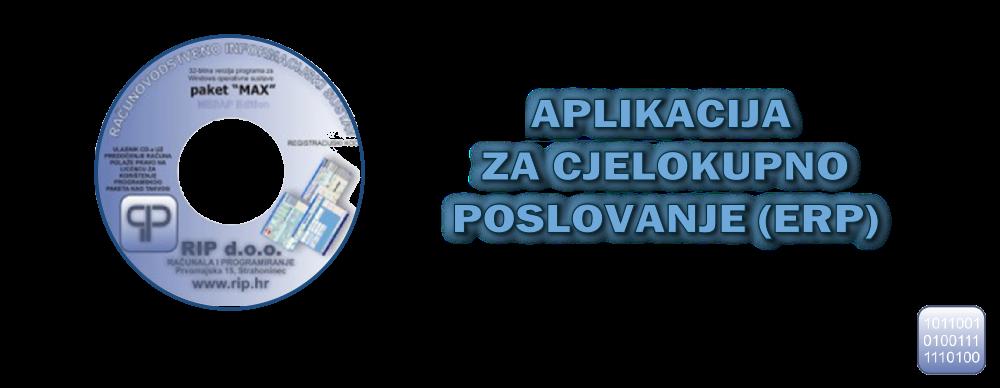 Besplatna ERP aplikacija za poslovanje
